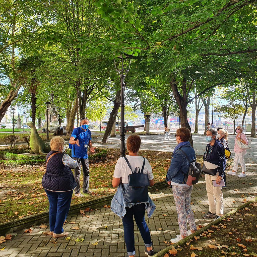 Excursión a Avilés, Parque del Muelle