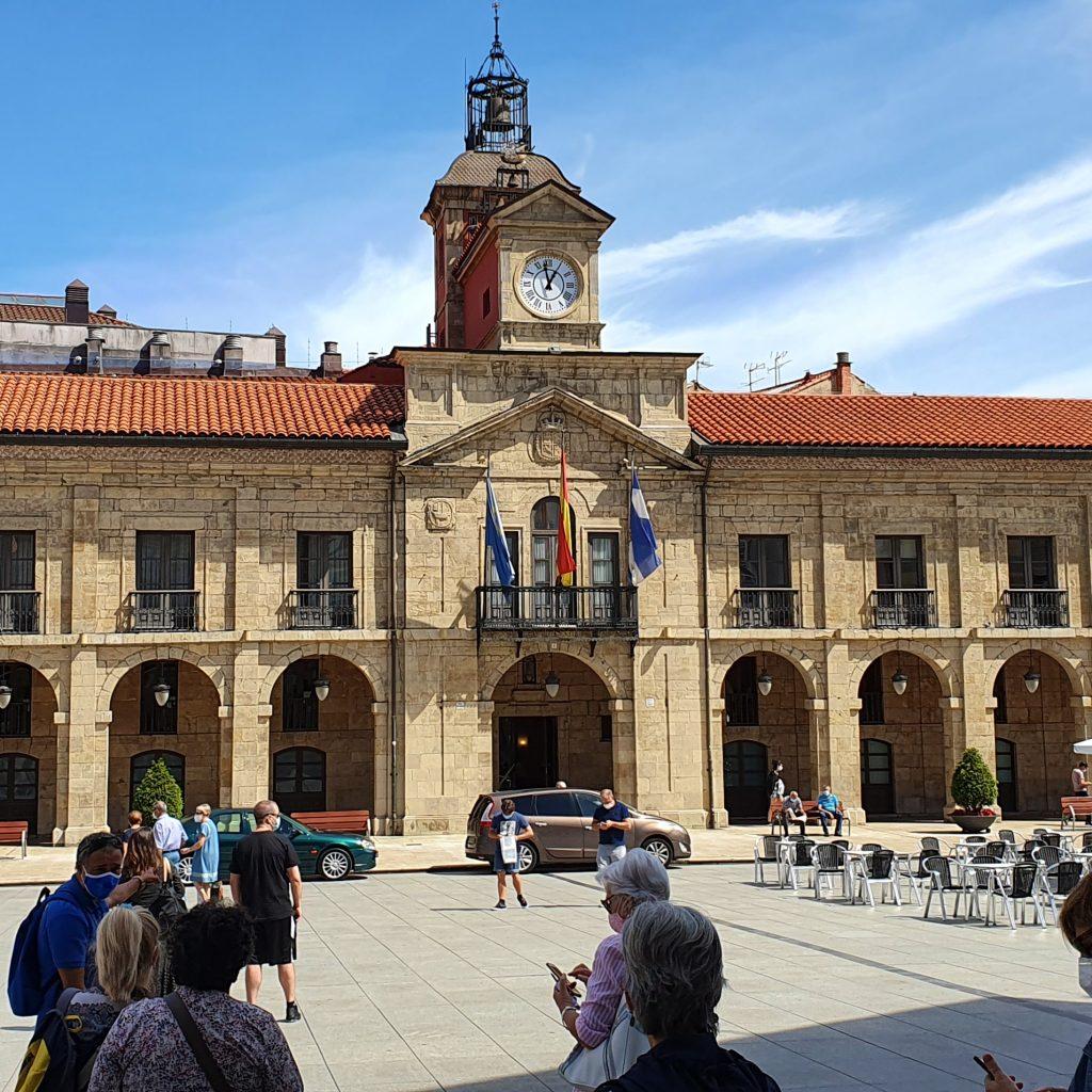 Excursión a Avilés, Ayuntamiento.