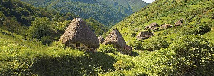 Excursión al Parque Natural de Somiedo en el interior occidental de Asturias.